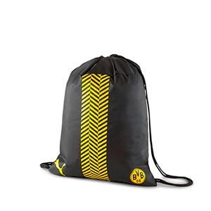 Gymsack Puma Borussia Dortmund - Mochila de cuerdas Puma del Borussia Dortmund - negra