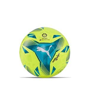 Balón Puma LaLiga 1 Adrenalina 2021 2022 Hybrid talla 3 - Balón de fútbol Puma de La Liga española LFP 2021 2022 talla 3 - amarillo flúor