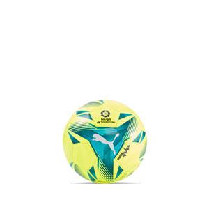Balón Puma LaLiga 1 Adrenalina 2021 2022 talla mini - Balón de fútbol Puma de La Liga española LFP 2021 2022 talla mini - blanco