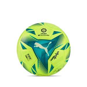 Balón Puma LaLiga 1 Adrenalina 2021 2022 FIFA Pro talla 5 - Balón de fútbol Puma de La Liga española LFP 2021 2022 talla 5 - amarillo flúor