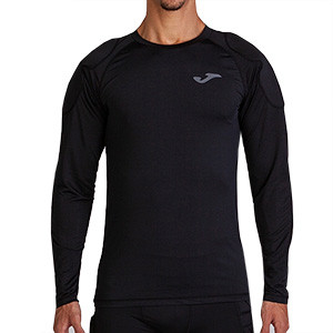 Camiseta Joma manga larga negro - Camiseta portero Joma manga larga - negro - frontal