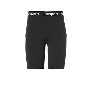 Malla corta portero Uhlsport niño Distinction Pro - Malla corta infantil de portero Uhlsport - negra - frontal