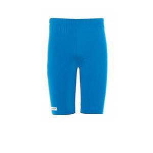 Mallas portero Uhlsport niño Distinction - Mallas cortas infantiles de portero Uhlsport - azul celeste - frontal