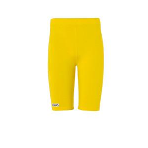 Mallas portero Uhlsport niño Distinction - Mallas cortas infantiles de portero Uhlsport - amarillas - frontal