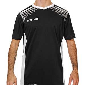 Camiseta portero Uhlsport Goal - Camiseta de manga corta de portero Uhlsport - negra - frontal