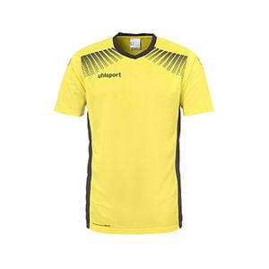 Camiseta portero Uhlsport Goal niño - Camiseta de manga corta de portero infantil Uhlsport - amarillo - frontal