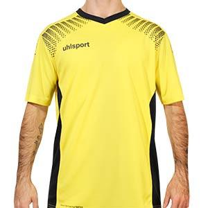 Camiseta de portero Uhlsport Goal - Camiseta de manga corta de portero Uhlsport - amarilla - frontal