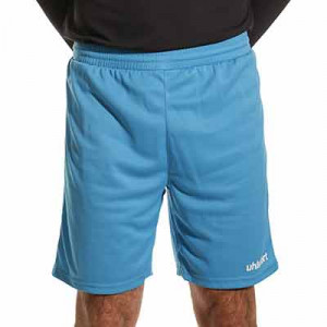 Short portero Uhlsport Center Basic - Pantalón corto de portero Uhlsport - azul celeste - frontal