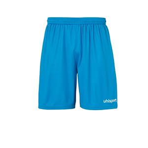 Short portero Uhlsport niño Center Basic - Pantalón corto de portero infantil Uhlsport - azul celeste - frontal