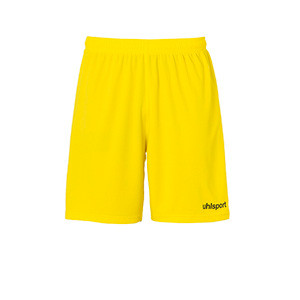 Short portero Uhlsport niño Center Basic - Pantalón corto de portero infantil Uhlsport - amarillo - frontal