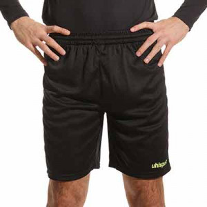 Short portero Uhlsport Center Basic - Pantalón corto de portero Uhlsport - negro - frontal