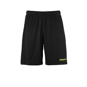 Short portero Uhlsport niño Center Basic - Pantalón corto infantil de portero Uhlsport - negro - frontal