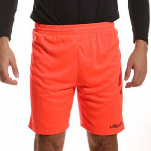 Short portero Uhlsport Center Basic - Pantalón corto de portero Uhlsport - rojo - frontal
