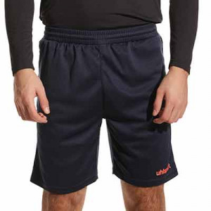 Short portero Uhlsport Center Basic - Pantalón corto de portero Uhlsport - azul marino - frontal