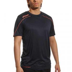 Camiseta portero Uhlsport Stream - Camiseta de manga corta de portero Uhlsport - azul marino - frontal