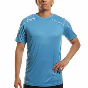 Camiseta portero Uhlsport Stream - Camiseta de manga corta de portero Uhlsport - azul celeste - frontal