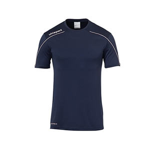Camiseta portero Uhlsport niño Stream - Camiseta de manga corta de portero infantil Uhlsport - azul celeste - frontal