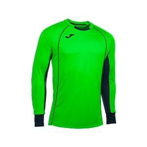 Camiseta portero Joma Protec - Camiseta infantil acolchada manga larga portero Joma - verde - frontal