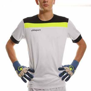 Equipación Uhlsport Offense 23 portero - Conjunto de portero Uhlsport - blanco