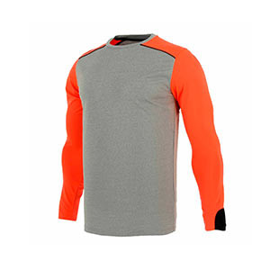 Camiseta Uhlsport Tower GK - Camiseta de manga larga de portero Uhlsport - gris y roja - frontal