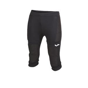 Pantalón 3/4 portero Joma Protect - Pantalón pirata acolchado de portero Joma - negro - frontal