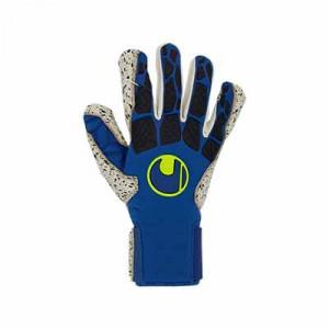 Uhlsport Hyperact Supergrip+ - Guantes de portero profesionales Uhlsport corte mixto - azules marino