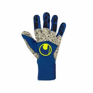Uhlsport Hyperact Supergrip+ Reflex - Guantes de portero profesionales Uhlsport corte Reflex - azules marino