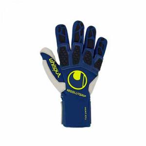Uhlsport Hyperact Absolutgrip Reflex - Guantes de portero Uhlsport corte Reflex - azules marino