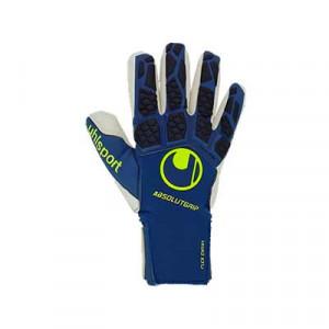 Uhlsport Hyperact Absolutgrip Finger Surround - Guantes de portero Uhlsport corte Finger Surround - azules marino