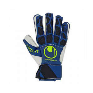 Uhlsport Hyperact Starter Soft - Guantes de portero Uhlsport corte clásico - azules marino