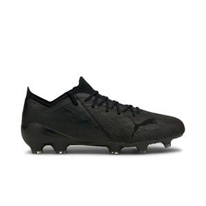 Puma Ultra 1.2 Lazertouch FG/AG - Botas de fútbol de piel de canguro Puma FG/AG para césped natural y artificial - negras - pie derecho