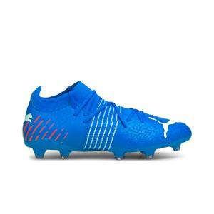 Puma Future Z 3.2 FG/AG - Botas de fútbol Puma FG/AG para césped natural o artificial - azules