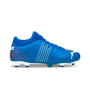 Puma Future Z 4.2 FG/AG Jr - Botas de fútbol con tobillera adidas FG para césped natural húmedo - rojas