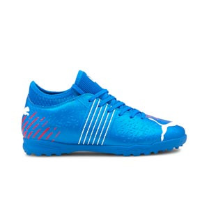 Puma Future Z 4.2 TT Jr - Zapatillas de fútbol multitaco infantiles Puma TT suela turf - azules