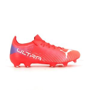Puma Ultra 2.3 FG/AG - Botas de fútbol Puma FG/AG para césped natural o artificial - rosas rojizas