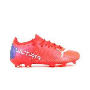 Puma Ultra 2.3 FG/AG Jr - Botas de fútbol adidas MG para césped artificial - rojas