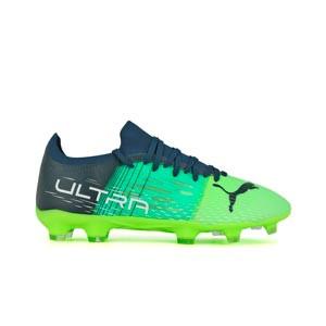 Puma Ultra 3.3 FG/AG - Botas de fútbol Puma FG/AG para césped natural o artificial - verdes, azules