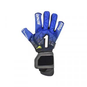 Rinat Fenix Superior Pro - Guantes de portero profesionales Rinat corte negativo - azules y negros - frontal derecho