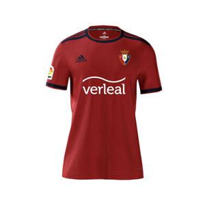 Camiseta adidas Osasuna niño 2021 2022 - Camiseta primera equipación infantil adidas del Club Atlético Osasuna 2021 2022 - roja