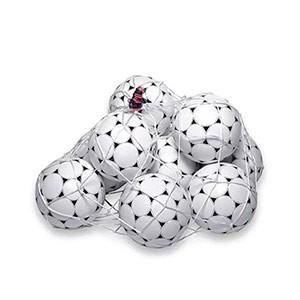 Red Rucanor para 10 balones - Red para 10 balones Rucanor - blanca - detalle