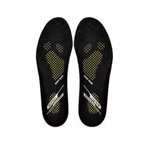 Plantillas para botas Rucanor Basic Sports - Plantillas para botas de fútbol Rucanor - negras - frontal