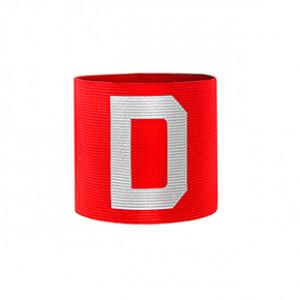 Brazalete de capitán infantil 30 cm - Brazalete de capitán niño - rojo/rojo - frontal
