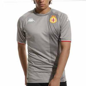 Camiseta Kappa 3a Genoa FC 2021 2022 Kombat Pro - Camiseta auténtica tercera equipación Kappa Genoa FC 2021 2022 - gris