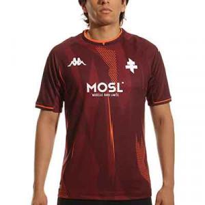 Camiseta Kappa Metz 2021 2022 Kombat - Camiseta primera equipación Kappa Metz 2021 2022 - granate