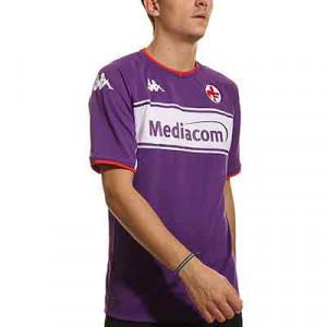 Camiseta Kappa Fiorentina 2021 2022 Kombat - Camiseta primera equipación Kappa Fiorentina 2021 2022 - lila