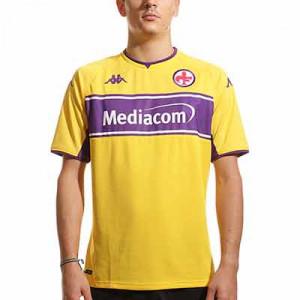 Camiseta Kappa 3a Fiorentina 2021 2022 Kombat - Camiseta tercera equipación Kappa Fiorentina 2021 2022 - amarillo, lila