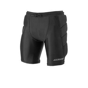 Pantalón corto Reusch CS Soft Padded - Pantalón corto acolchado de portero Reusch CS - negro - frontal