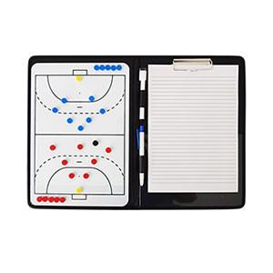 Carpeta entrenador fútbol sala Zastor 37x25 cm - Carpeta táctica para entrenador de fútbol sala Zastor - blanca - interior