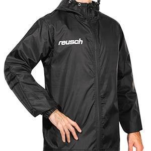 Chubasquero Reusch Goalkeeping Padded - Chubasquero de portero con protecciones Reusch - negro - frontal