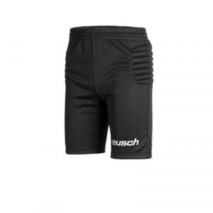 Pantalón portero Reusch Starter 2 Junior - Pantalón corto infantil acolchado de portero Reusch - negro - frontal